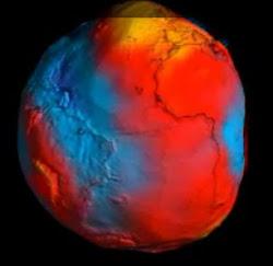 Mapa da gravidade da Terra 2