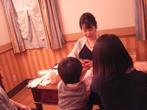 鑑定風景 HANZOYA Christmas Festa 2014