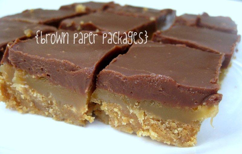 crafty couple: Chocolate Caramel Bars