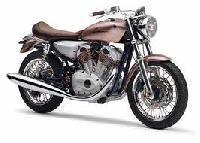 Retro Style Motorbike