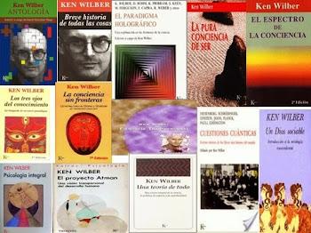 Paquete de 13 libros de Ken Wilber