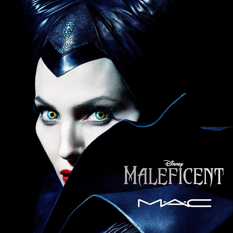 Y Maléfica se hizo maquillaje gracias a MAC