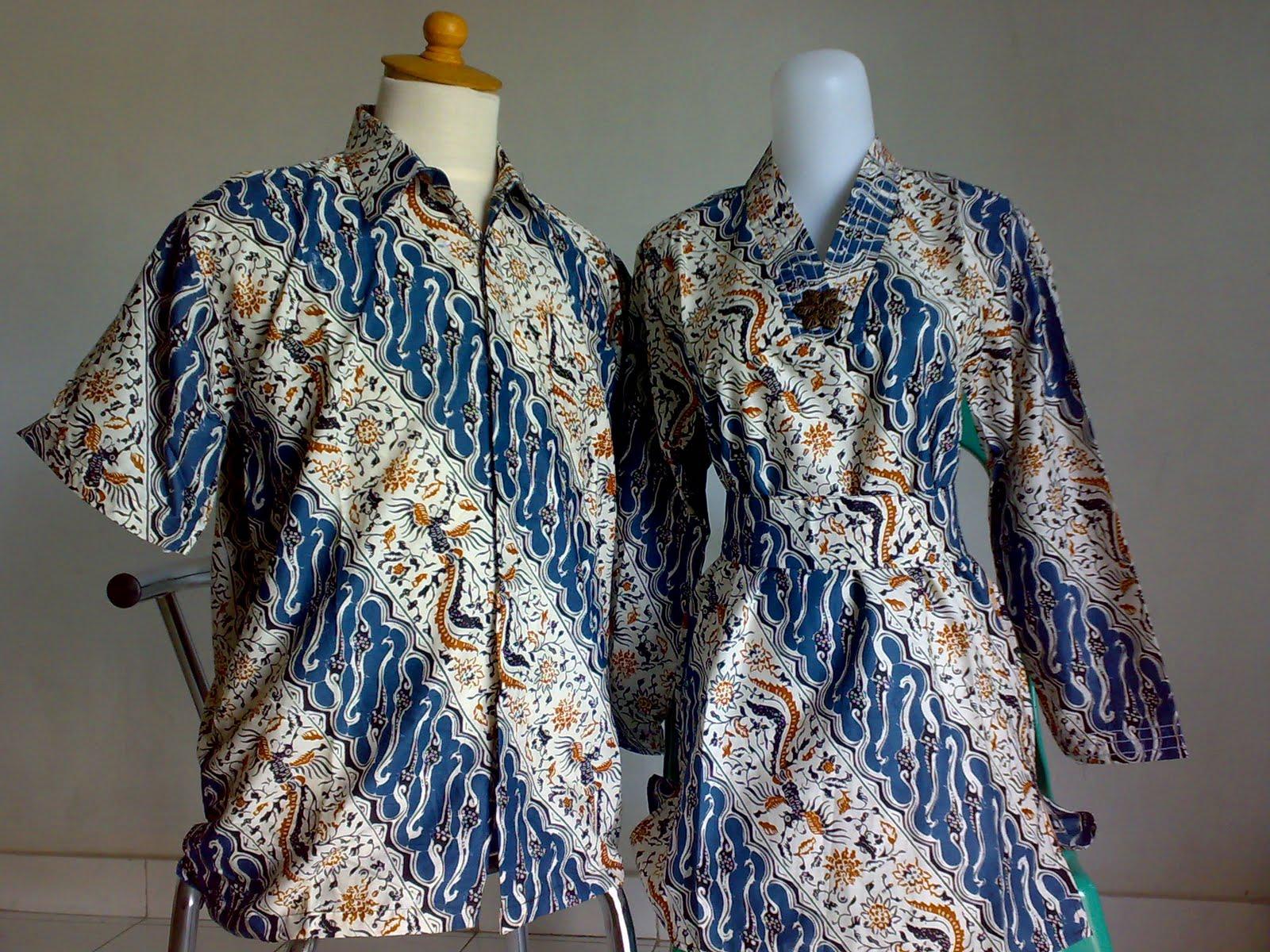 Model Baju Batik Couple Knitting Patterns Free Couple Baju