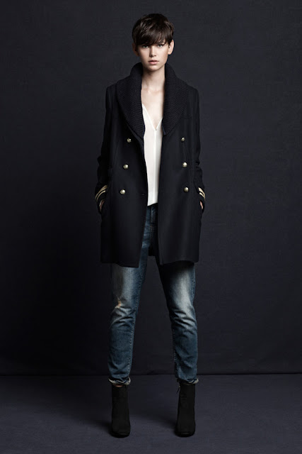 Military Zara Lookbook. Winter 2013