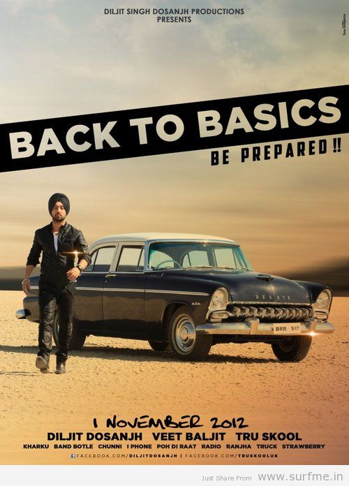 Diljit Dosanjh Back To Basics Released Worldwide and ...