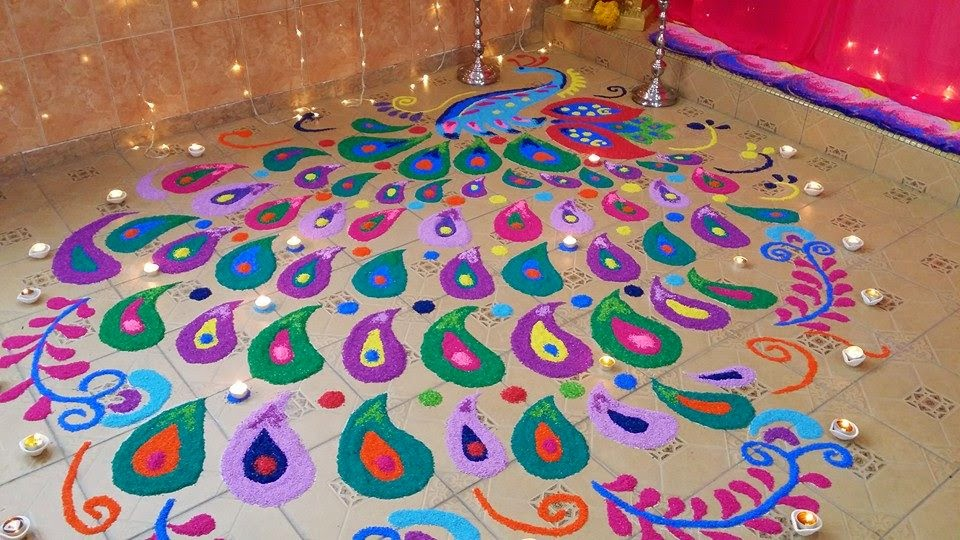 Easy Rangoli Designs 2