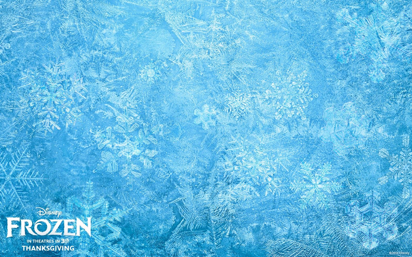 Disney Frozen Ice Texture