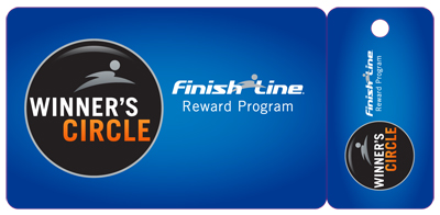 Wow! I just got an email from reader, Shannyn, who signed up for the Finish Line Winner's Circle Rewards Program and got some sweet coupons in the mail! The coupons are good over a 6 month period, each valid during a different time frame.