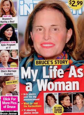 Revistas especulam que Bruce Jenner é mulher