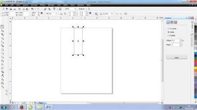 Cara Membuat Abstrak Light di Corel Draw