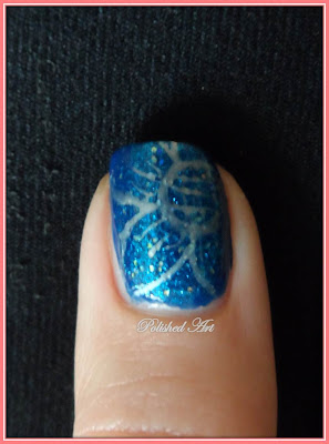 Born-Pretty-Store-Joyme-nail-art-pen-silver-flowers-over-Orly-Angel-Eyes