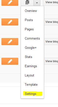 search Description for blogger.