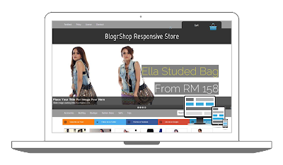BlogrShop Responsive Free Blog SHop Template