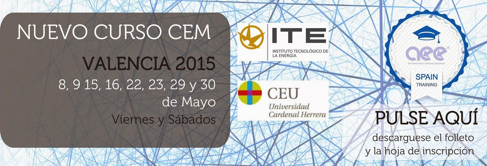 Curso CEM(R) Valencia Mayo 2015