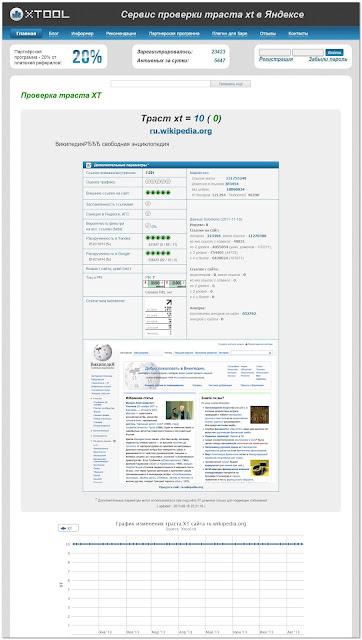 Cкриншот сервиса XTOOL