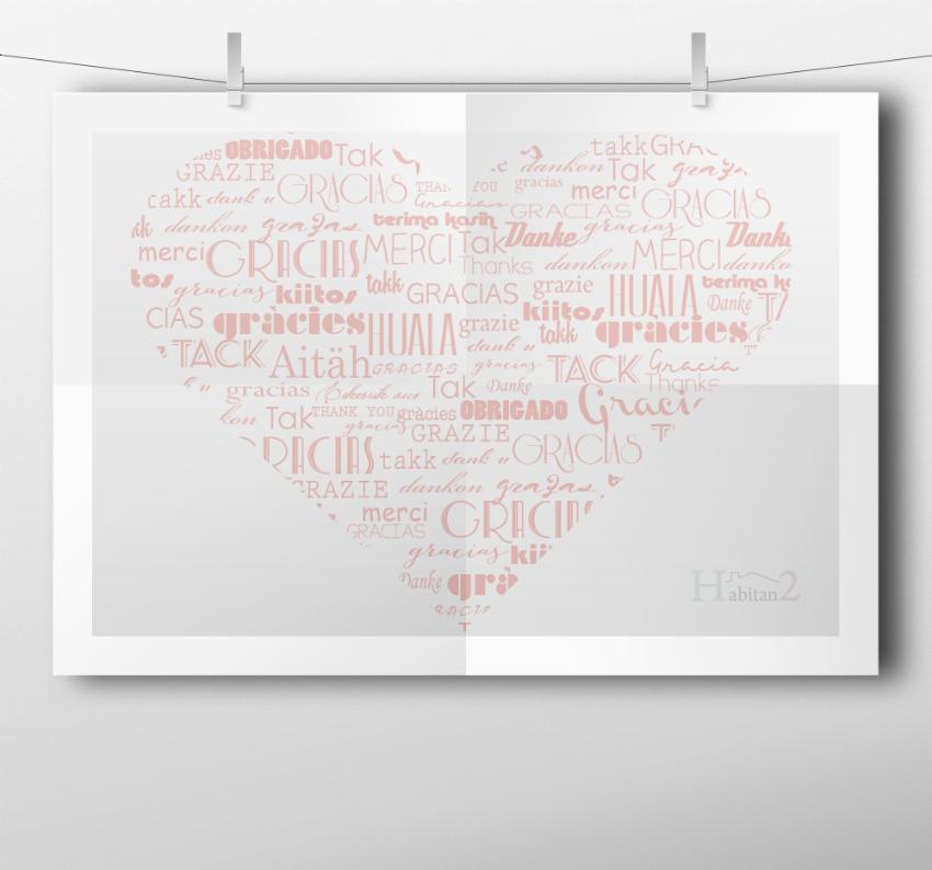 Láminas  personalizadas diseño de Habitan2