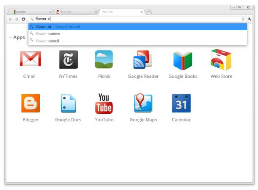 برنامج قوقل كروم 2012 Google