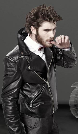 chaquetas de piel hombre
