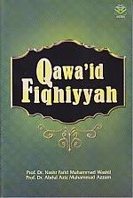 toko buku rahma: buku QAWA'ID FIQHIYYAH, pengarang nashr farid, penerbit amzah