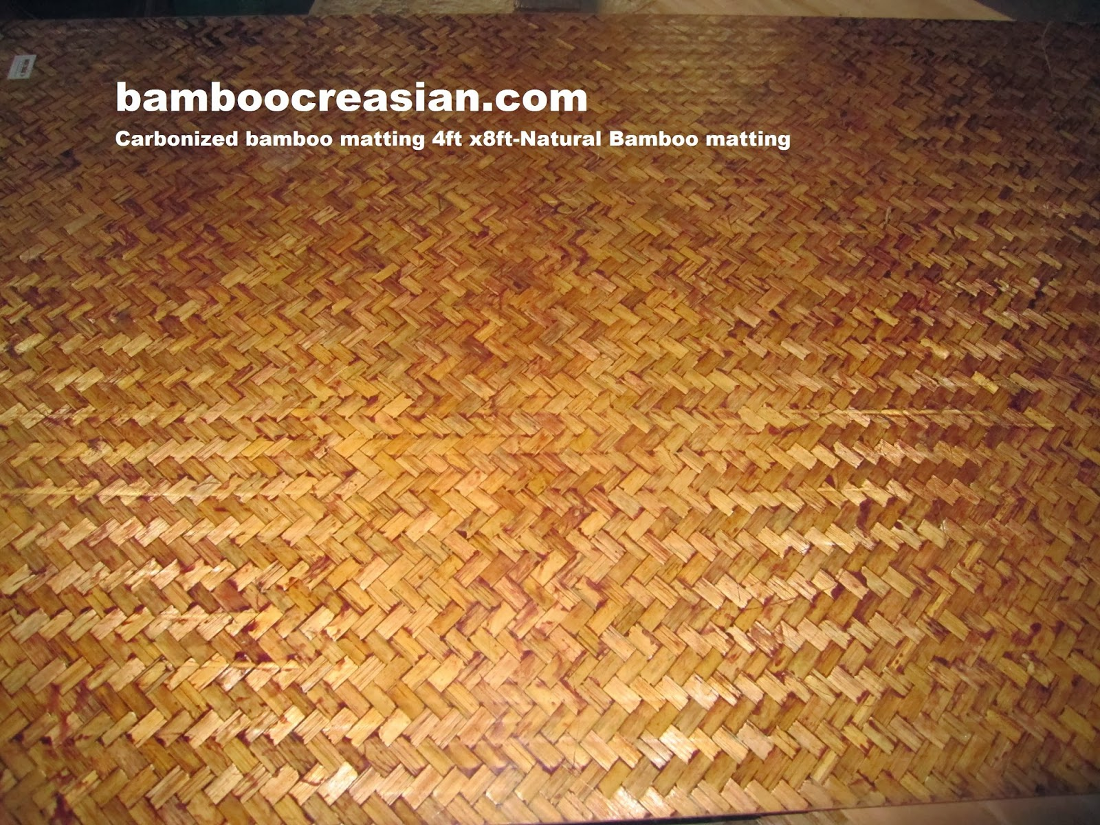 Quality Bamboo and Asian Thatch Bamboo Matting Bamboo Weave Mat