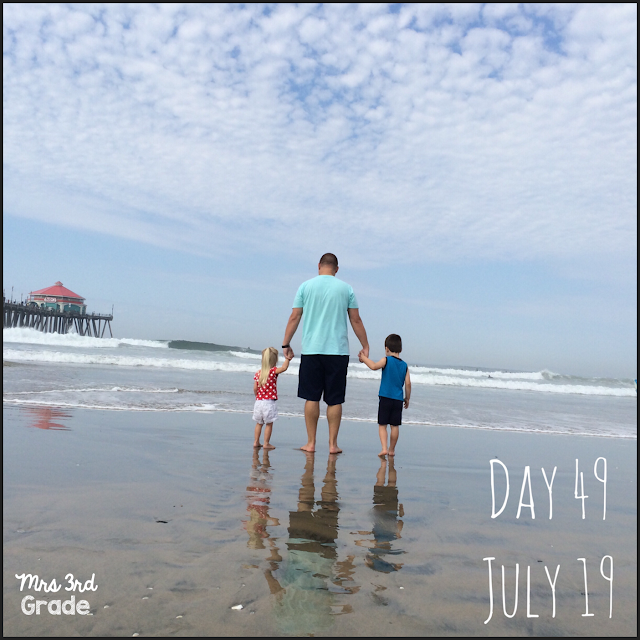 Family trip to Orange County, July 2015