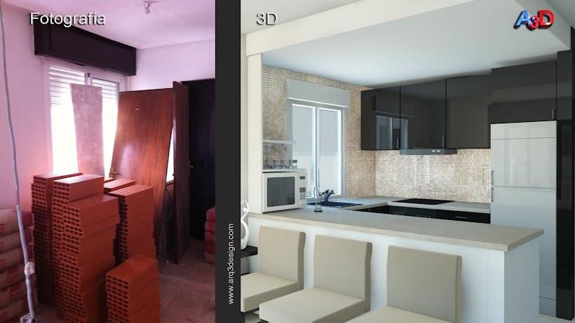 Reforma Salamanca 3D Arq3Design