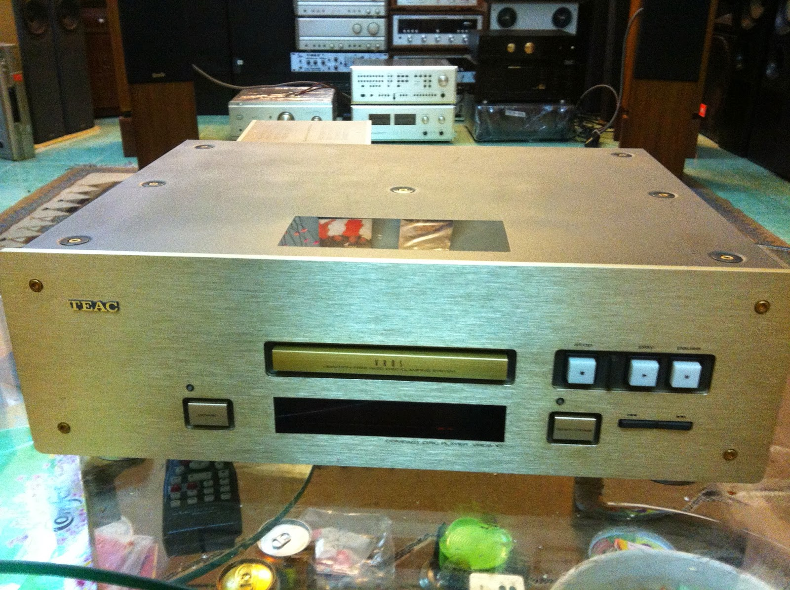 Đầu CD - TEAC 10 - Made in Japan