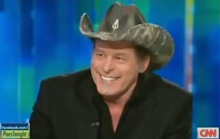 Ted Nugent on Piers Morgan Tonight