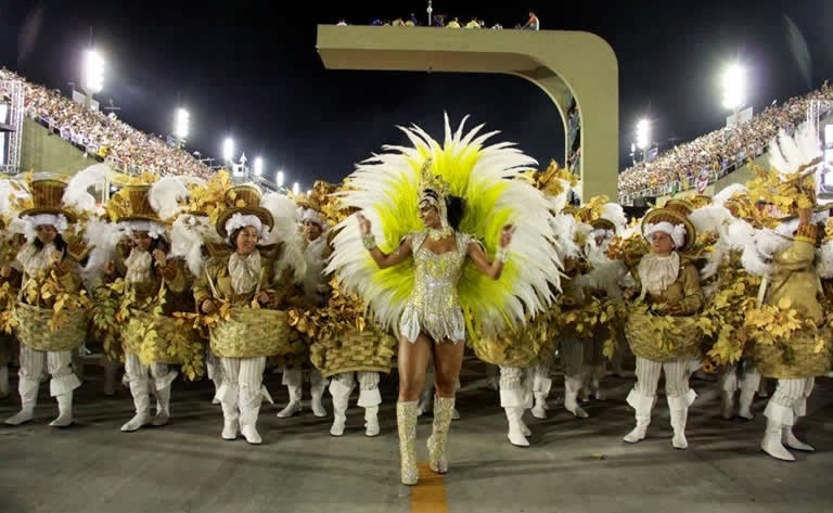 Ingresso carnaval RJ - desfile na Sapucaí