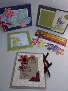 Stampin Up! Convention - Melbourne 2011 - Bright Flower Cards