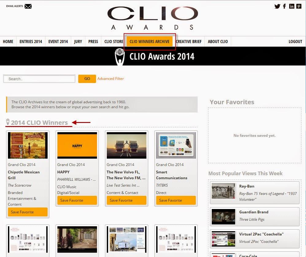 Clio Awards 2014 01