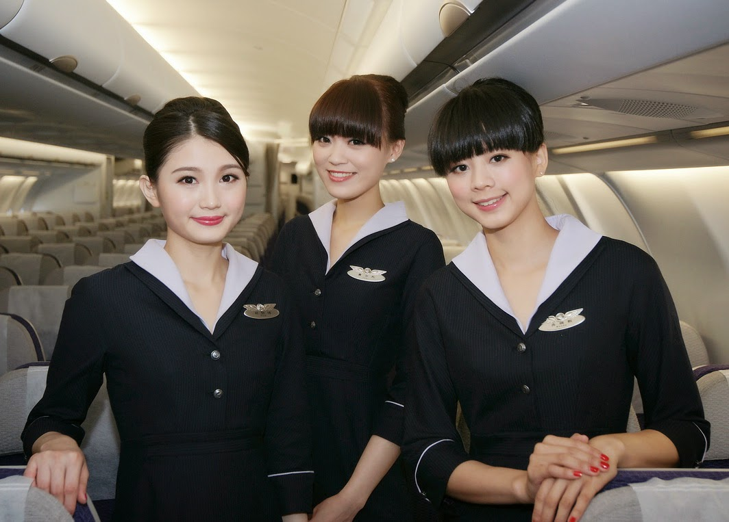 Transasia Airways Launches New Uniform World Stewardess