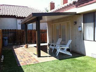 Lapham Construction: Patio Cover in Ridgecrest, California