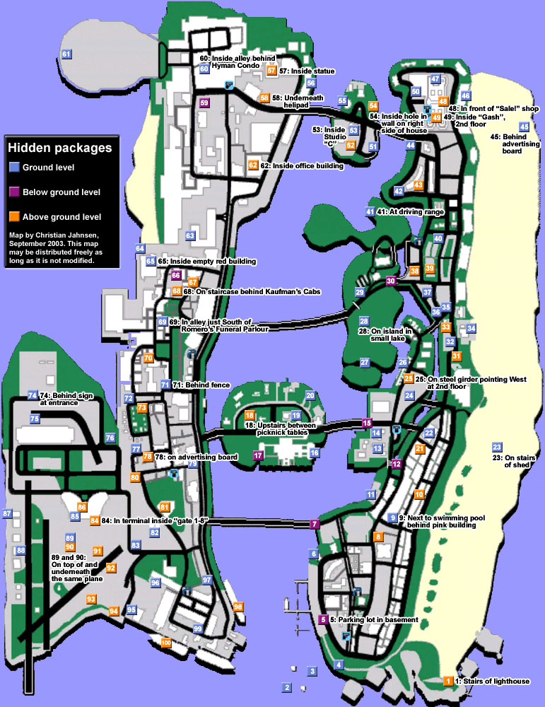 gta vice city map gta vice city map gta viceGta Vice City Map Of Missions