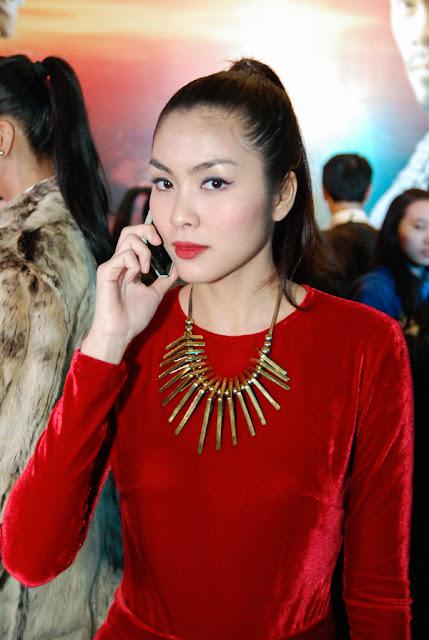 Dàn người đẹp phim mỹ nhân kế khoe sắc tại Hà Nội