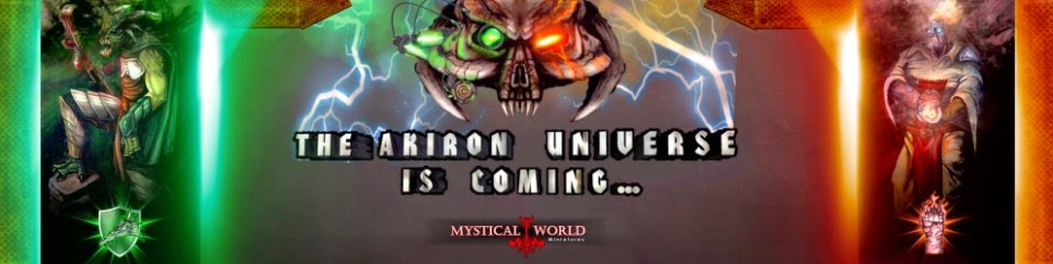 AKIRON - Technofantasy Skirmish Game