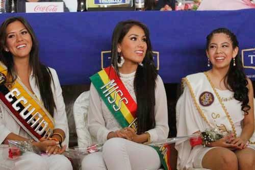 Señorita Tarija representa a Bolivia en Perú