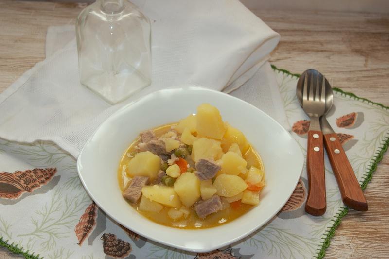 Cookeo de moulinex patatas con carne for Cocinar con cookeo