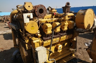 Caterpillar used marine propulsion engines, 800 HP Caterpillar