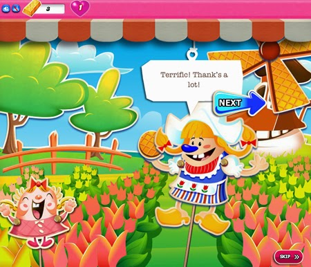 Candy Crush Saga 576-590 ending