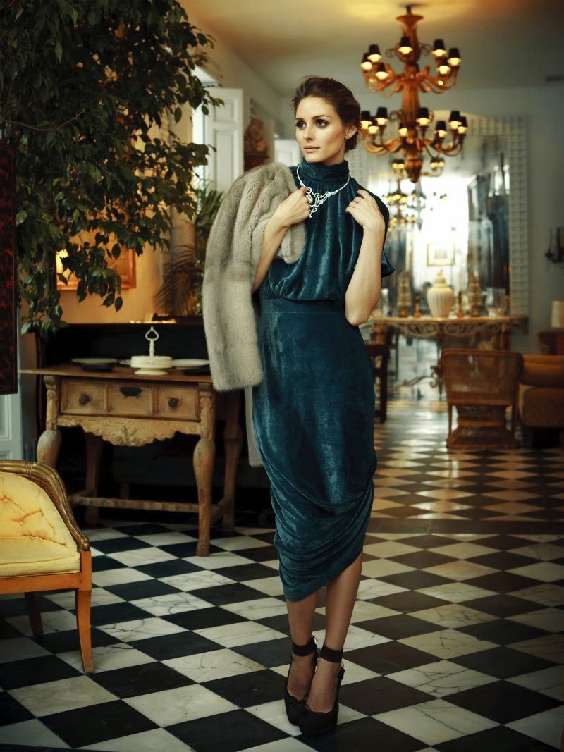 Olivia Palermo in Tatler Russia by Santiago Esteban