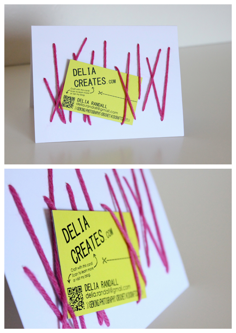 Hand Sewn Cards