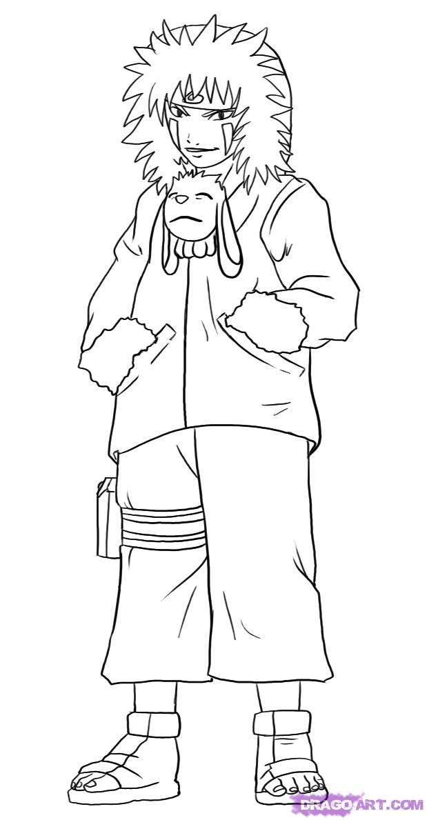 Cartoons coloring pages naruto coloring pages for Free naruto coloring pages