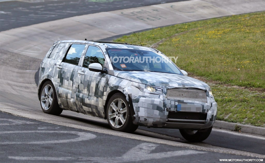 Land Rover Discovery Nurburgring