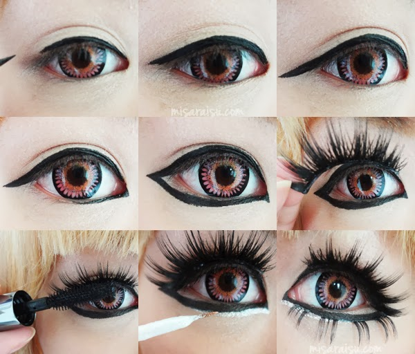 big eye doll makeup - photo #11