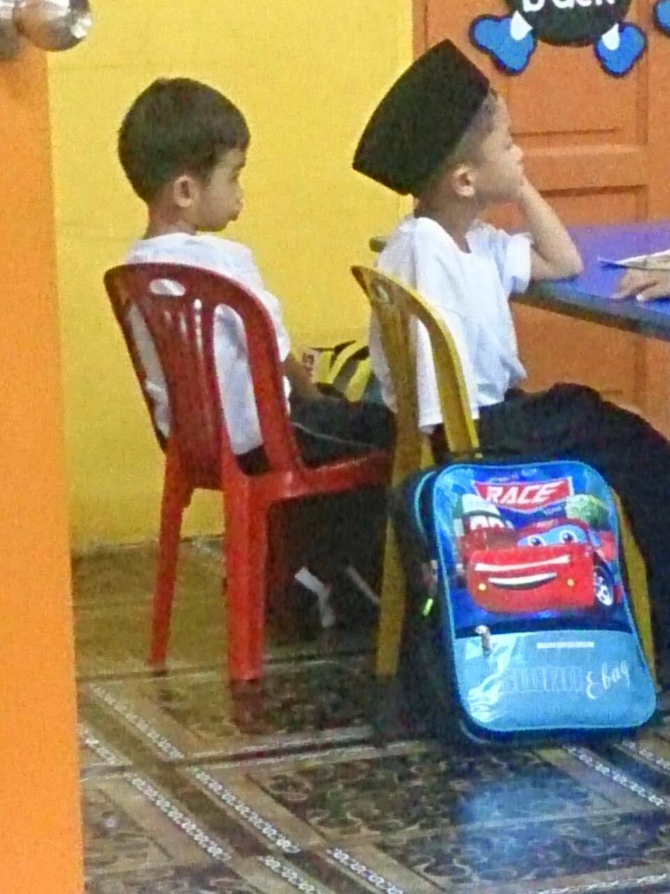 Muhammad Qayyum Rayqal ke sekolah