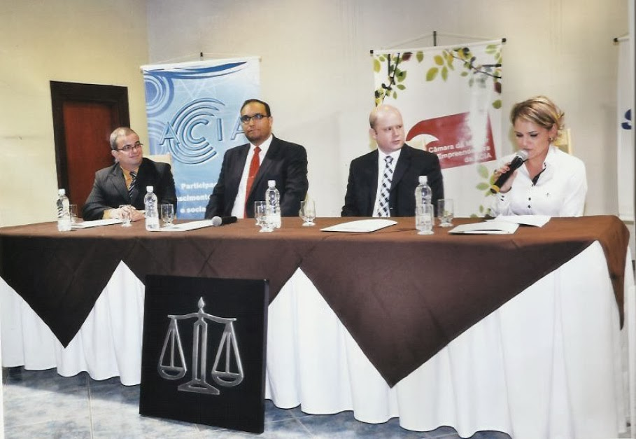 Mesa redonda sobre Direito do Consumidor Araxá-MG
