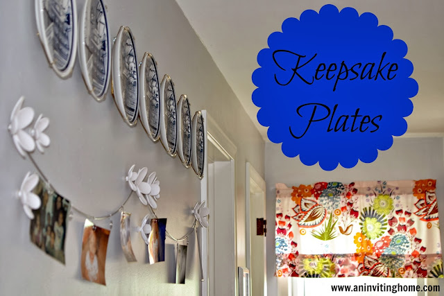 Keepsake Baby Plates