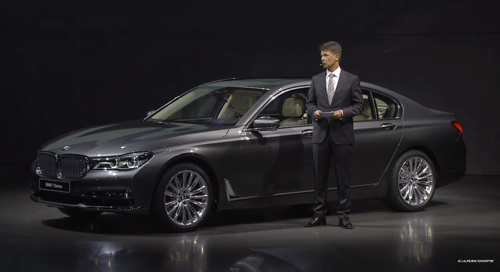 Watch The 2016 BMW 7 Series Reveal Here At 1250PM EST