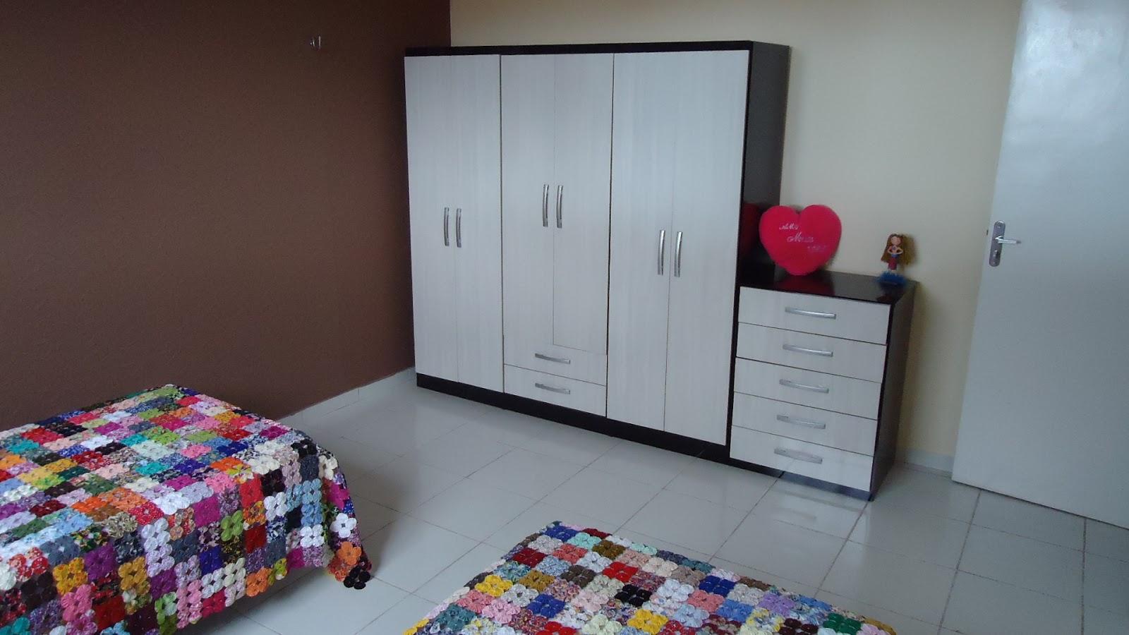 Outro ângulo da foto de outro quarto do pensionato Lar da Meninax (Fortaleza-CE)